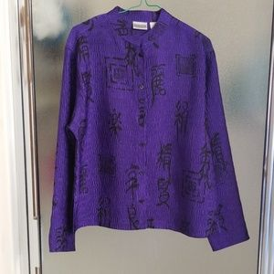 Purple Blouse NWOT